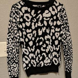 Super cute leopard sweater